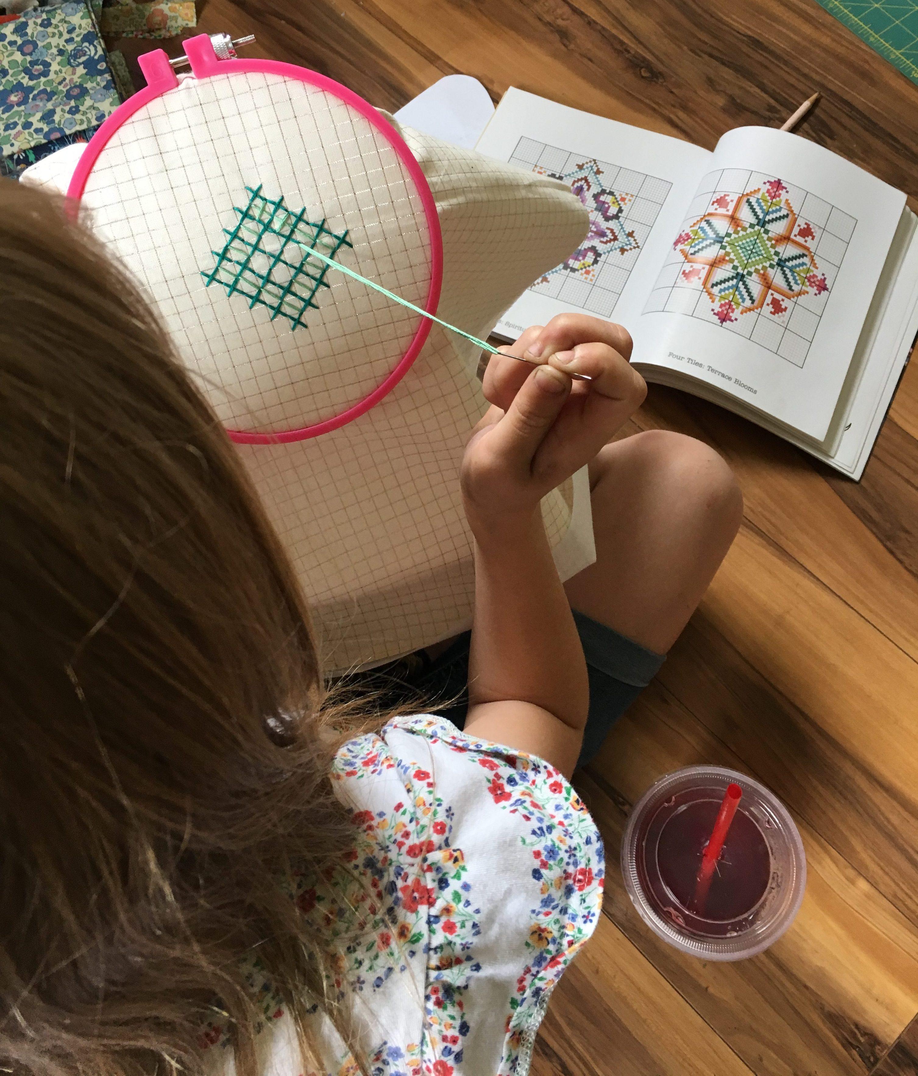 big cross stitch Needleworks Notebook