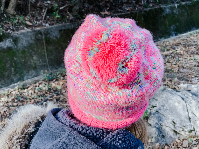 knitting with kids hat