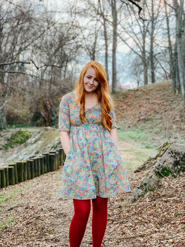 Aubepíne dress by deer and doe in Liberty lawn
