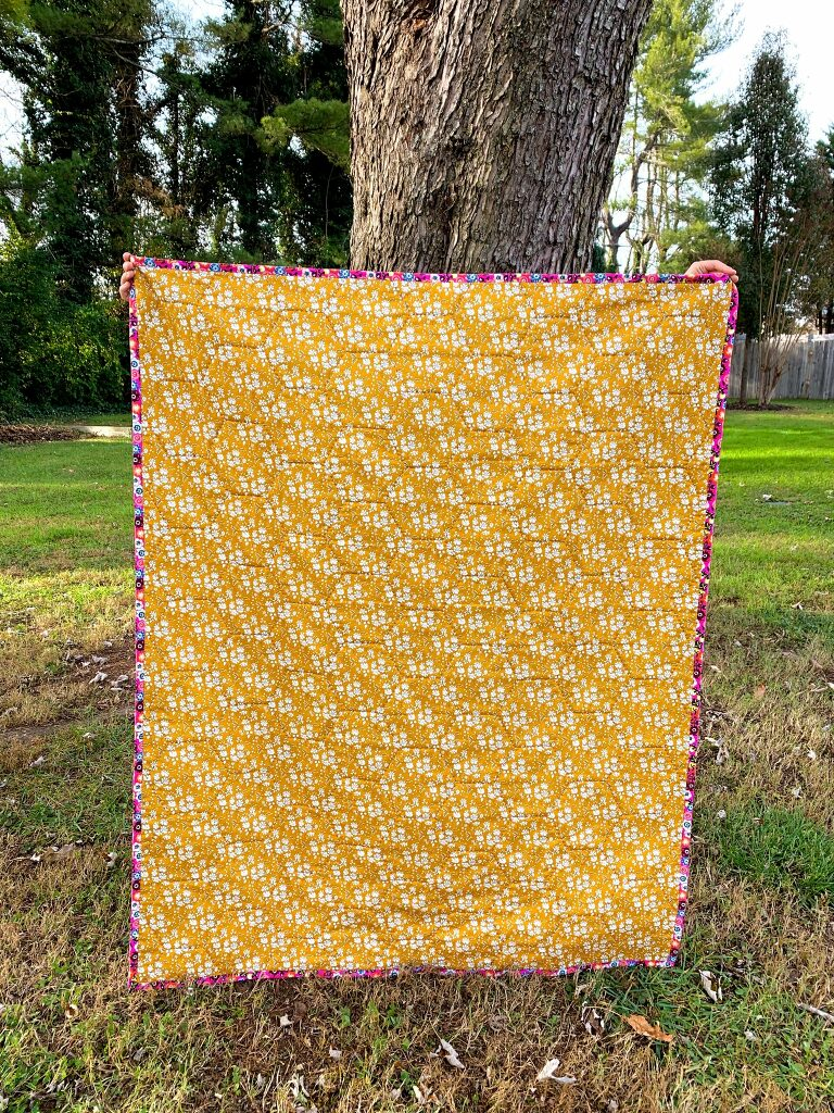 a honeycomb quilt for Bea by Olivia Jane Handcrafted