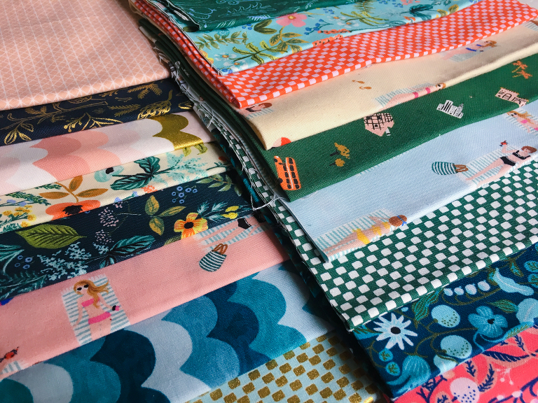 Sewing with Kids quilt planning