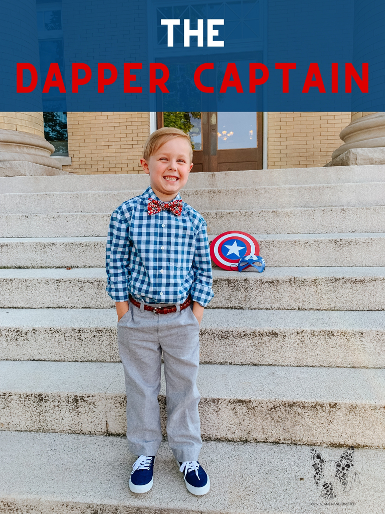 Project Run and Play A Dapper Captain