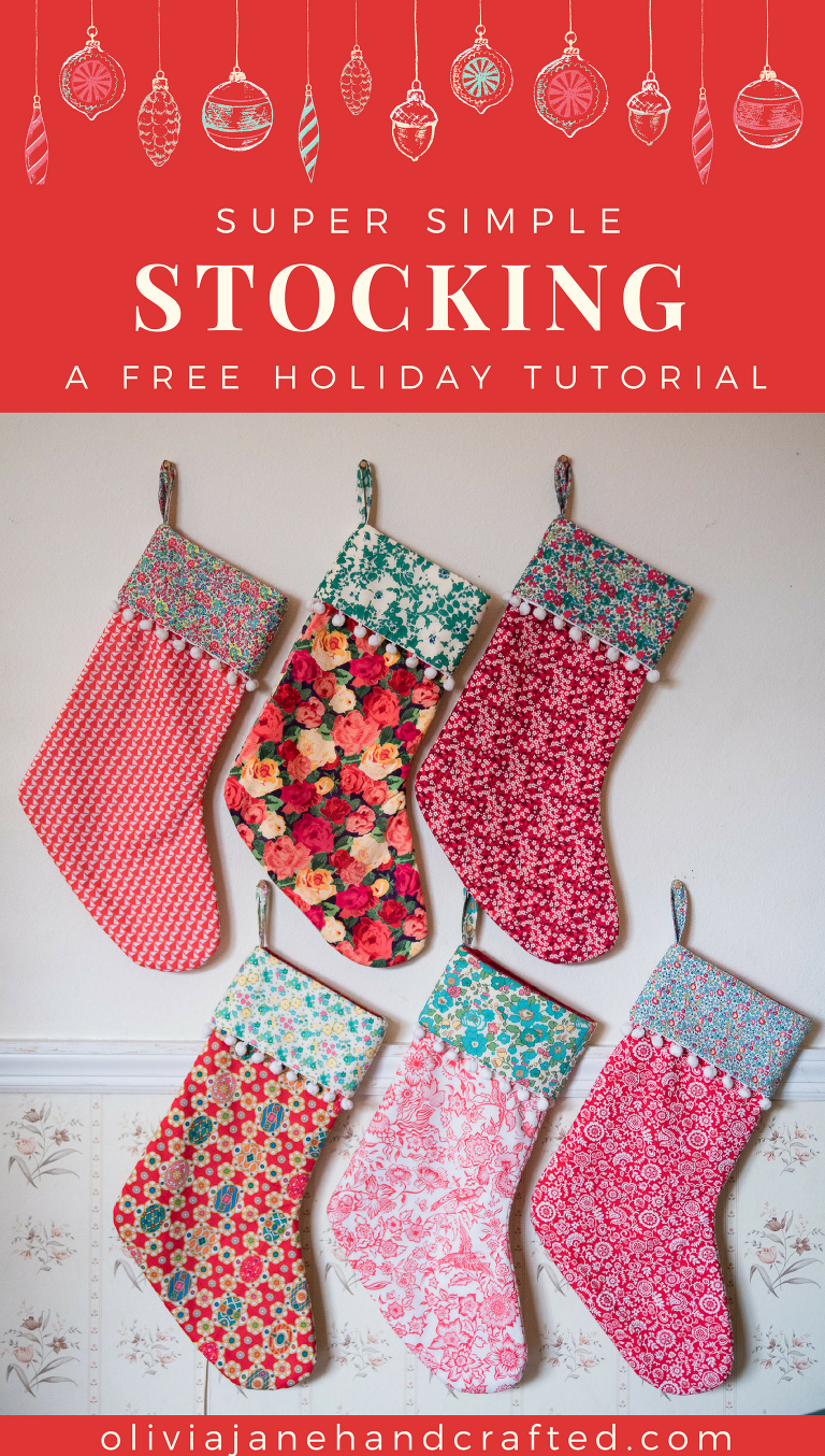 super simple stocking a free tutorial
