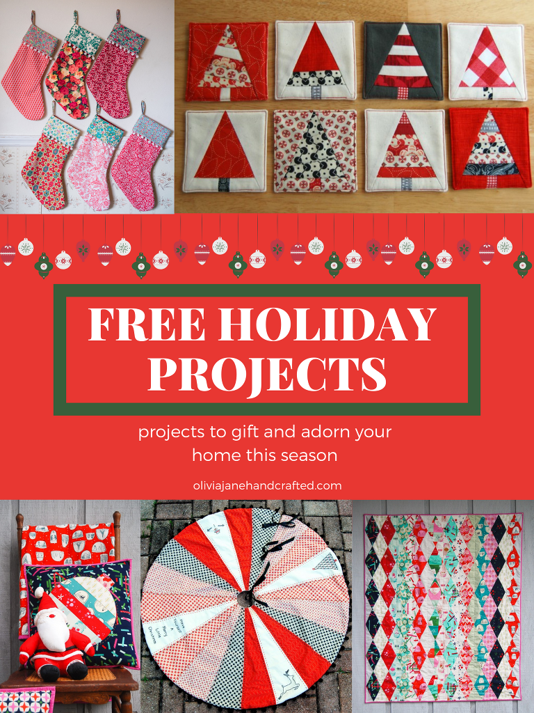 FREE HOliday project roundup Christmas