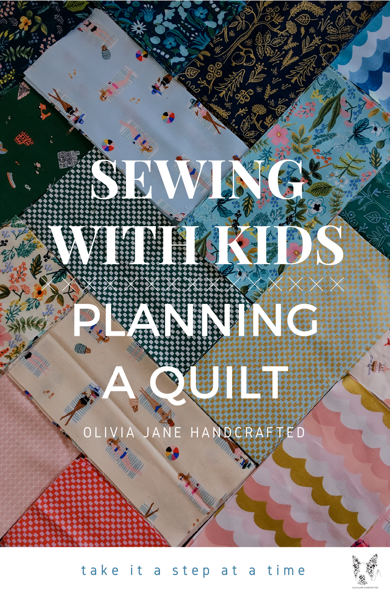 sewing with kids Planning a quilt