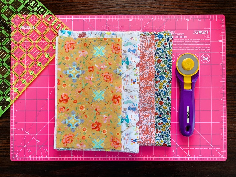 Beginner Quilt Series : cutting your fabric