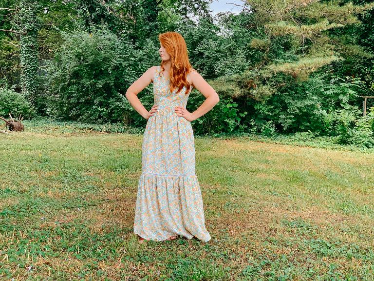 Neon Betsy boho dress diy