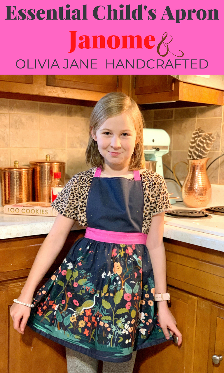 Essential Child's Apron by Olivia Jane Handcrafted