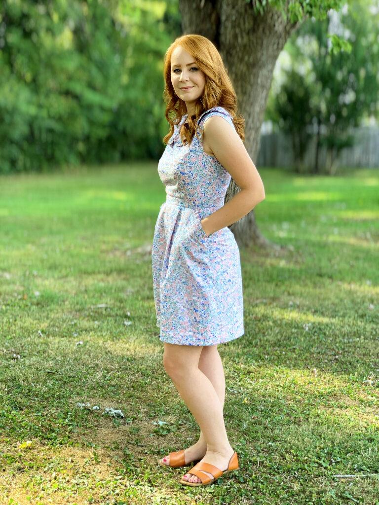 Wiltshire Cobalt Quartz Belladone Dress